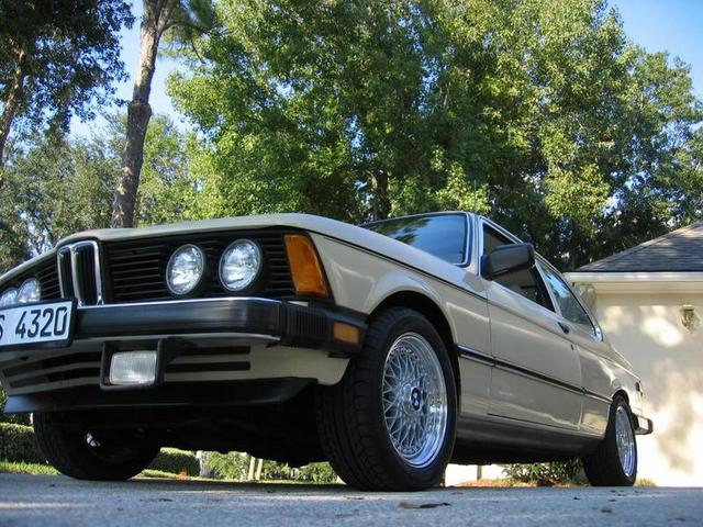 "E21 with 16"" BBS RS Wheels"