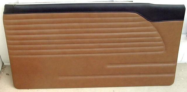 Saddle Brown on Black Standard Late Front
